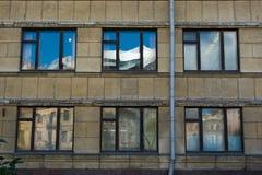 Fensterreflexion Lizenzfreie Stockfotos