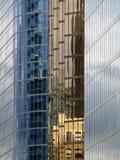 Fensterreflexion Stockbilder