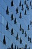 Fensterreflexionen Lizenzfreie Stockbilder