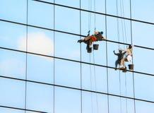Fensterreinigungsmittel Stockfoto