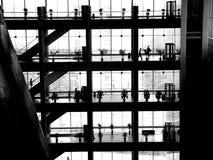 Fensterschatten Stockfoto