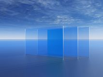 Fensterscheiben vektor abbildung