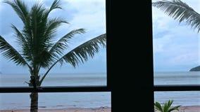 Fensterseeansicht stock video footage