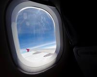 Fenstersitz Lizenzfreie Stockfotos