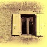 Fenstertür Stockfoto
