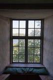 Fenstervertiefung Stockfoto