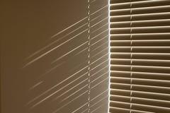 Fenstervorhänge Stockfotos