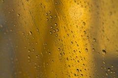 Fensterwassertropfen Lizenzfreie Stockfotografie