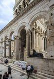 Fente, Croatie Photos libres de droits