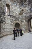 Fente, Croatie Images libres de droits