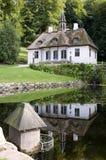 Fente de château de Liselund photo libre de droits