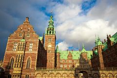 Fente de Frederiksborg images libres de droits