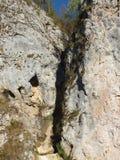 Fente de montagne photo libre de droits