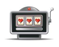 Fente-machine de vecteur photographie stock libre de droits