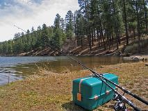 Fenton Lake New Mexico stock afbeeldingen