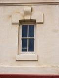 Fenêtre avec le signe fermé Images libres de droits