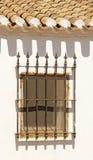 Fenêtre espagnole Photos libres de droits