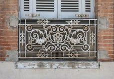 Fenêtre à Toulouse Image stock