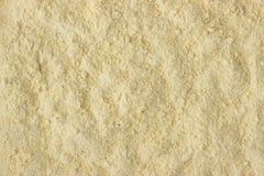 Fenugreek powder spice as a background, natural seasoning textur Stock Photo