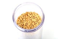 Fenugreek seeds Stock Photos