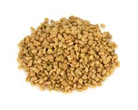 Fenugreek seeds , indian spice Stock Image