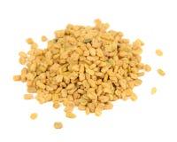 Free Fenugreek Seeds Isolated On White Background Stock Photos - 40926653