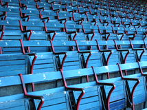 Fenway. Empty seats at Fenway Park, Boston Stock Image