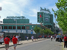 Fenway Park on April 20, 2012 in Boston, USA, Stock Photos