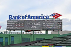Fenway Park on April 20, 2013 in Boston, USA, Royalty Free Stock Photography
