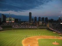 Fenway Park. Baseball field cityscape Royalty Free Stock Photo
