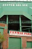 Fenway Park. Baseball stadium sign at gate C in Boston, Massachusetts Royalty Free Stock Images