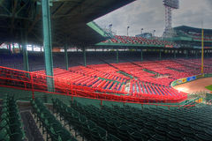 Fenway Park in Boston, MA Lizenzfreie Stockbilder