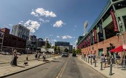 Fenway Park, Boston, MA stock image