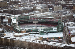 Fenway Park, Boston, Massachusetts, U.S.A. Fotografia Stock Libera da Diritti