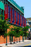 Fenway Park, Boston, MOR Royaltyfria Foton
