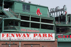 Fenway Park in Boston Stock Photography