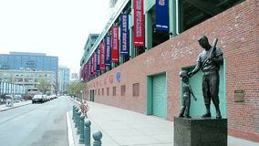Fenway Park in Boston, USA, stock footage