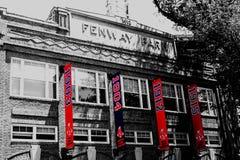 Fenway Park Fahnen Lizenzfreies Stockbild