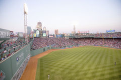 Fenway Park field Stock Images