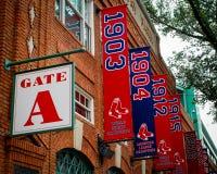 Fenway Park, Gate A. Boston, MA Royalty Free Stock Photo