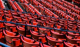 Fenway Park. Historic Fenway Park, Downtown, Boston, MA.  Home of the Boston Red Sox Stock Images