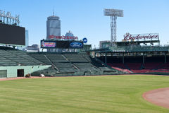 Fenway Park Outfield Royalty Free Stock Photos