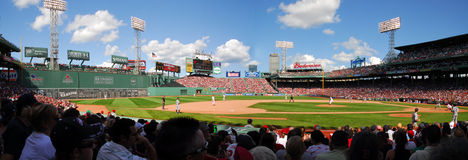 Fenway Park, Panorama Stockbild