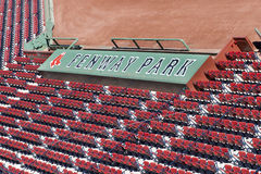 Fenway Park Seating Royalty Free Stock Photo