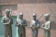 Fenway Park Statue stockbilder