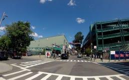 Fenway Park on Yawkey Way, Boston, MA. Royalty Free Stock Photos
