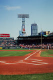 Fenwaypark, Boston, doctorandus in de letteren. Royalty-vrije Stock Foto's