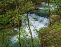 Fenwick bryter vattenfall - 2 royaltyfri bild
