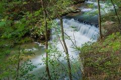 Fenwick bryter vattenfallet royaltyfri fotografi
