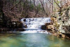 Fenwick bryter vattenfallet fotografering för bildbyråer
